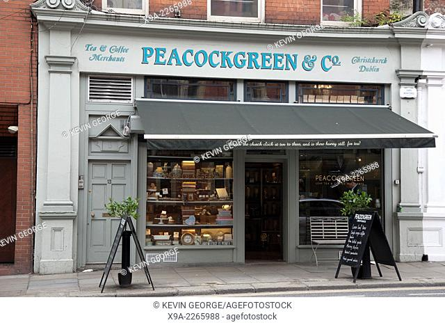 Peacock Green Cafe and Bakery, Temple Bar, Dublin, Ireland