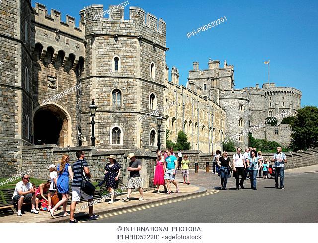 England Berkshire Windsor Entrance to Windsor Castle Peter Baker