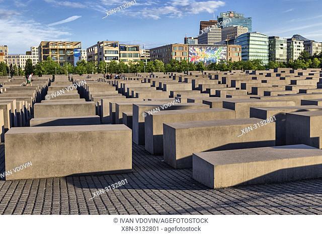 Holocaust Memorial, Holocaust-Mahnmal (2004), Berlin, Germany