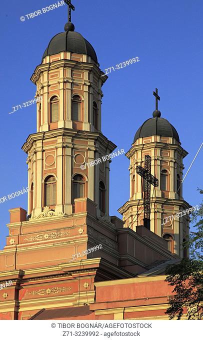 Chile, Santiago, Congregacion Preciosa Sangre, church,