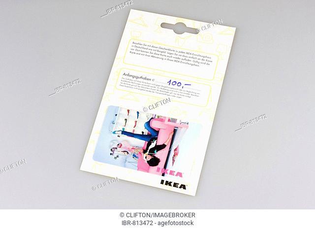 Ikea customer card, shopping voucher, voucher, gift coupon