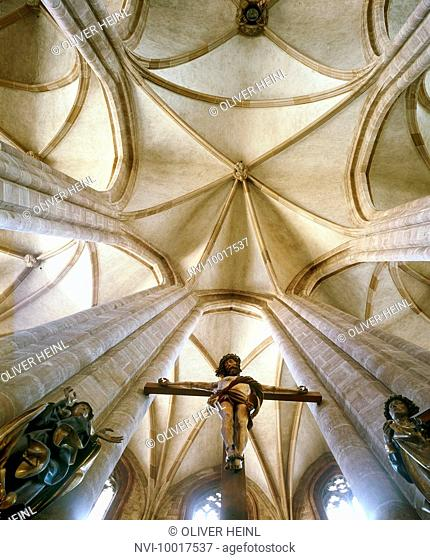 Church of St. Sebald, Nuremberg, Middle Franconia, Bavaria, Germany, Europe
