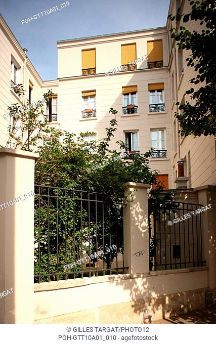 tourism, France, ile de france, paris 13e arrondissement, RUE DU MOULIN DES PRES, RUE GERARD Photo Gilles Targat