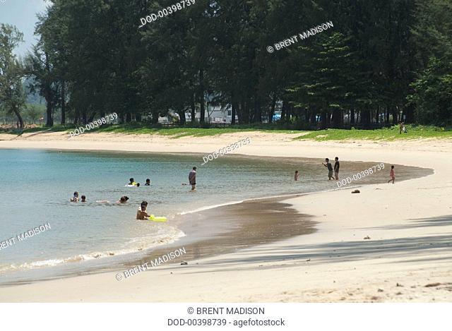 Thailand, Phuket, Nai Yang Beach 12