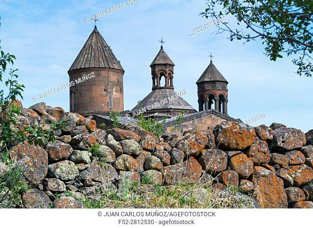 Saghmosavank Monastery, Aragatsotn Province, Armenia, Middle East
