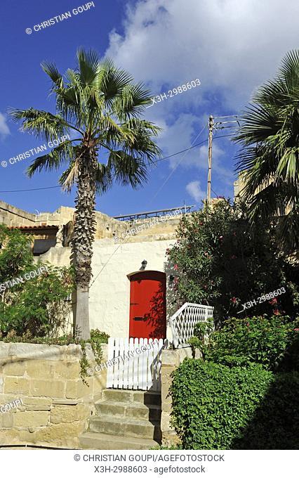 Village of Gharb, Gozo Island, Malta, Mediterranean Sea, Southern Europe