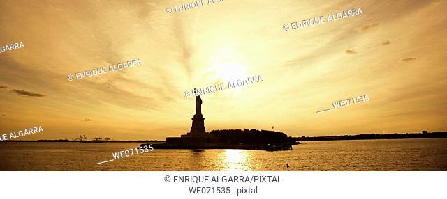 Statue of Liberty, New York. USA