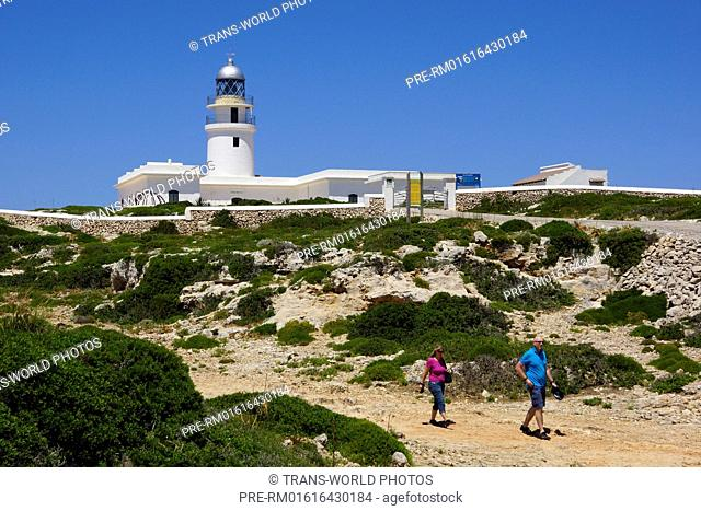Lighthouse at Cap de Cavalleria, Es Mercadal, Menorca, Spain / Leuchtturm am Cap de Cavalleria, Es Mercadal, Menorca, Spanien