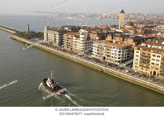 Las Arenas, Bilbao, Biscay, Basque Country, Spain