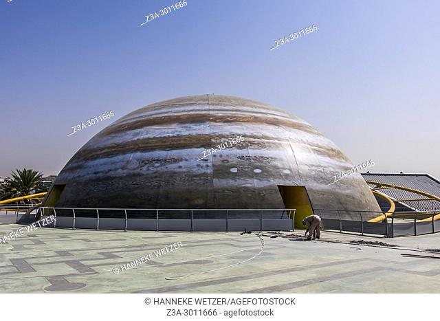 Planet shaped building at Zabeel Park, Dubai