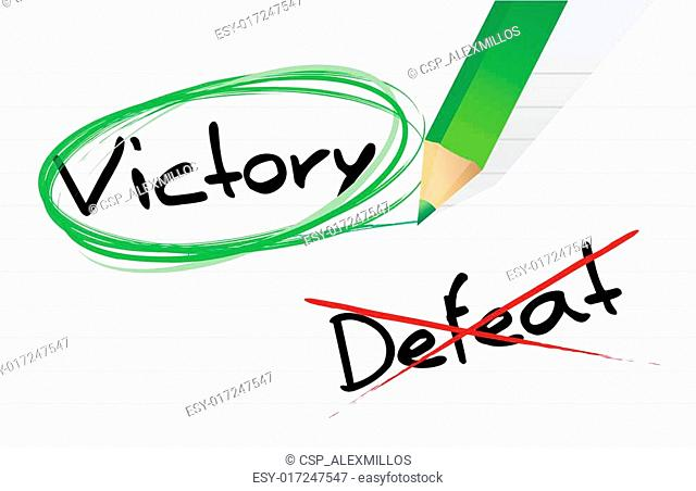 victory versus defeat selection