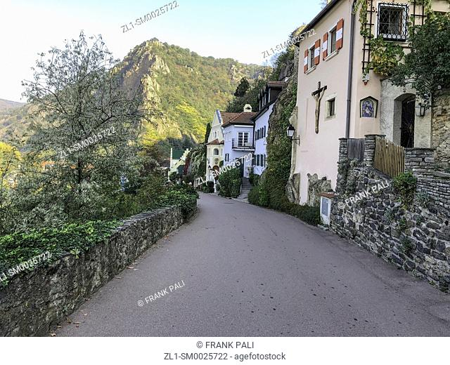 The pretty town of Dürnstein, on an impossibly photogenic curve in the Danube, ... and has gained a name for itself as Austria's premier winemaking region
