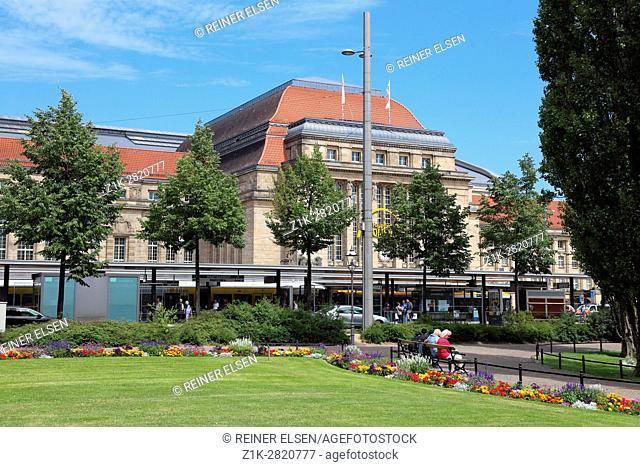 Leipzig Hauptbahnhof Promenaden main station