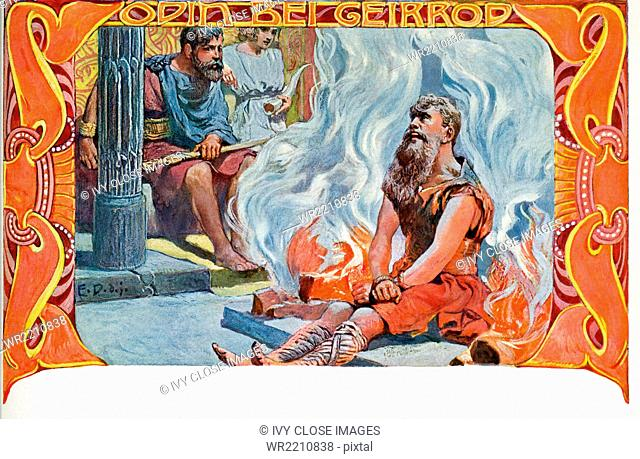 Odin was the powerful ruler of the Aesir, the main gods in Norse mythology. His name means fury or frenzy and he played a major role in myths about the creation...