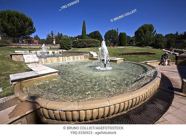 thermal baths of Greoux les Bains. Alpes de Haute Provence, France