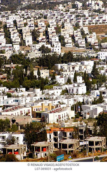 Development of vacation homes. Bodrum Peninsula. Turkey
