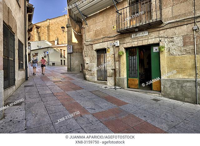 Calle Tentenecio, Salamanca City, Spain, Europe