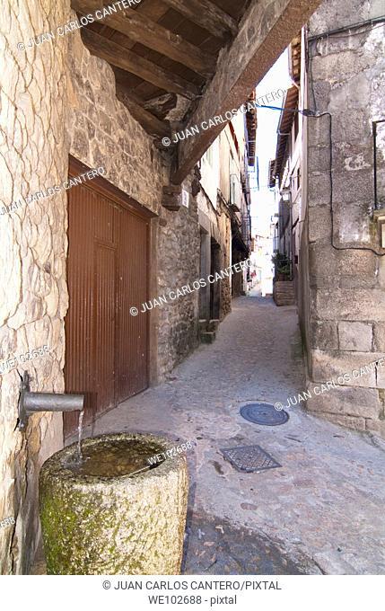 Mogarraz. Salamanca. Castilla y León. Spain. Europe
