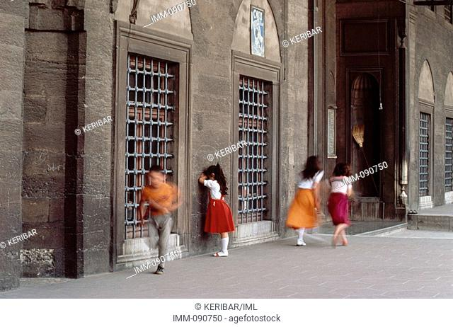 Istanbul: The Royal City Children playing hide and seek