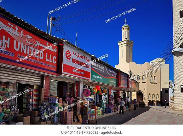 In the Old Town of Muscat