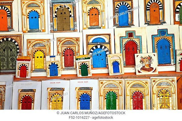 Handicrafts. El Djem. Tunisia. Africa