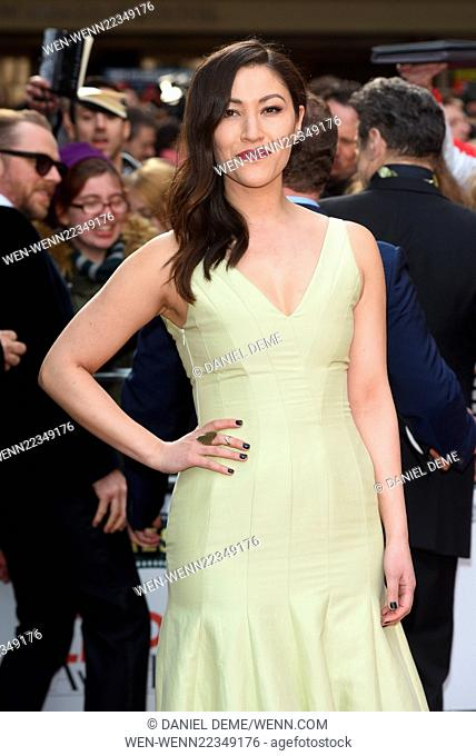 Jameson Empire Film Awards held at the Grosvenor House - Arrivals. Featuring: Eleanor Matsuura Where: London, United Kingdom When: 29 Mar 2015 Credit: Daniel...