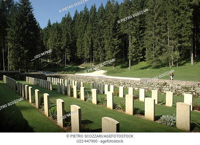 Asiago (Vicenza, Italy), the Granezza British Cemetery