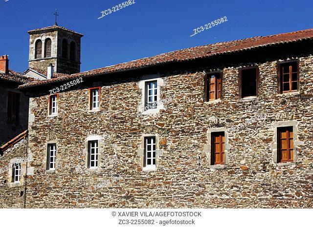 Monastery, Chartreuse, Sainte Croix En Jarez, Natural Park of Pilat, Loire, Rhone Alpes, France