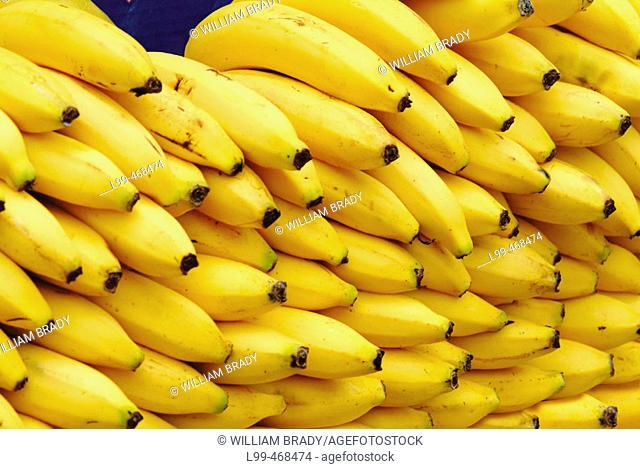 Close up of bananas