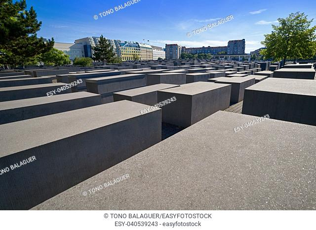 Berlin Holocaust Memorial to murdered Jews in Germany
