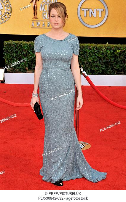 Jenna Fischer at The 17th Annual Screen Actors Guild Awards - Arrivals held at the Shrine Auditorium in Los Angeles, CA on Sunday, January 30, 2011