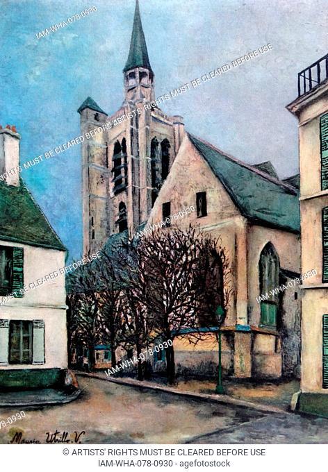 Maurice Utrillo (1883 - 1955) Eglise De La Fere-en-Tardenois (Aisne), circa 1940