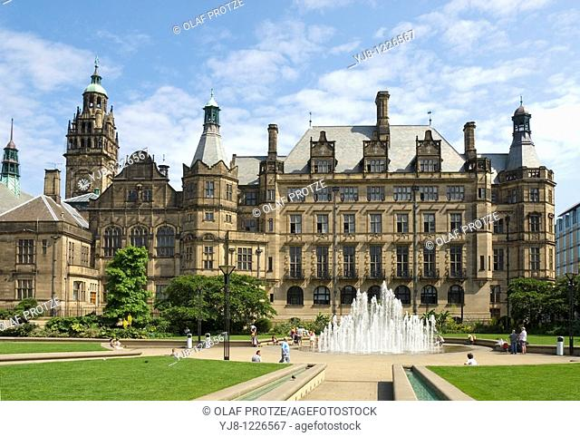 Sheffield Town Hall is a building in the City of Sheffield, England  The building is used by the City Council, and also contains a publicly displayed collection...