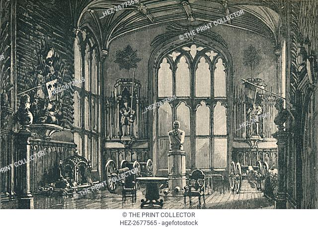 'The Guard Room, or Armoury', 1895. Artist: Unknown