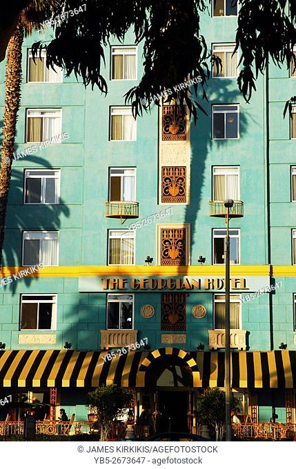 The Elegant Art Deco Georgian Hotel Santa Monica