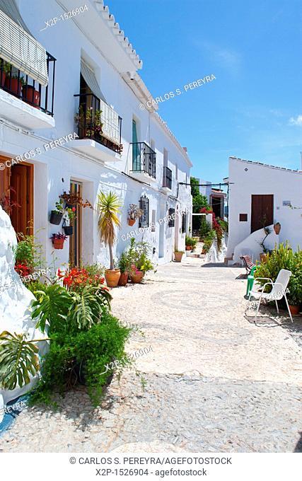 Town of Frigiliana, Andalusia, Spain