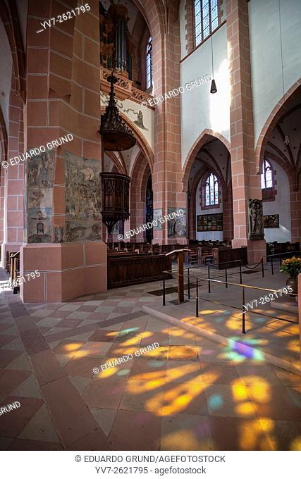 Church Liebfrauenkirche. Oberwesel, Rhineland-Palatinate, Germany