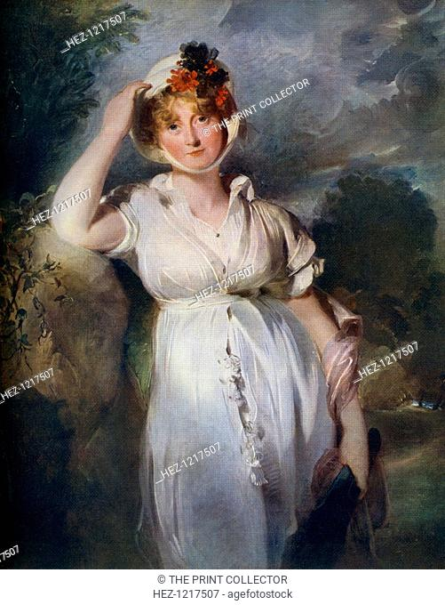 'Caroline Amelia Elizabeth of Brunswick', c1788-1810, (1912). Caroline of Brunswick (1768-1821) married the Prince of Wales, the future King George IV, in 1795