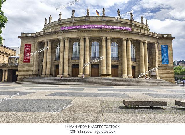 State theatre, Staatstheater (1912), Stuttgart, Baden-Wurttemberg, Germany
