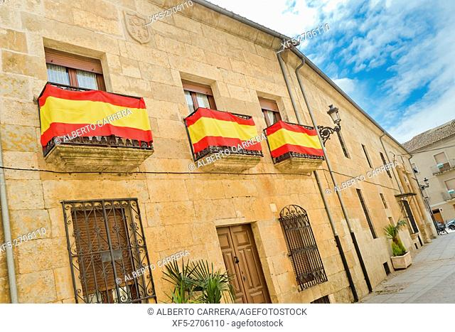 Traditional Architecture, Ciudad Rodrigo, Medieval Town, Spanish Property of Cultural Interest, Historic Artistic Grouping, Salamanca, Castilla y León, Spain