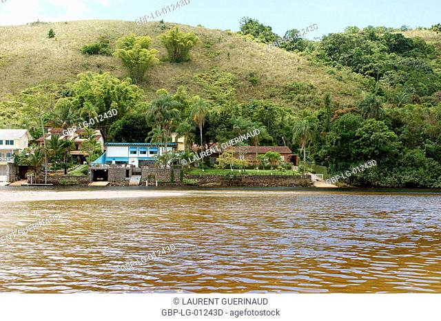 Landscape, Barra do Una, Peruíbe, São Paulo, Brazil