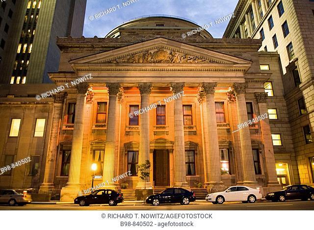 Montreal, Quebec, Canada, Place D'Armes, Notre Dame Basilica