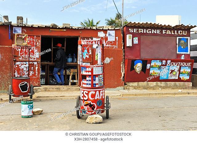 shops at Ngor, Dakar, Senegal, West Africa