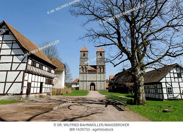 Former church St. Maria of the Premonstratensian monks, museum of Henneberg, Kloster Vessra, Thuringia, Germany, Europe