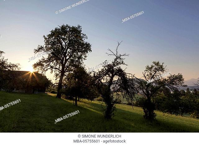 Sunrise in Carinthia