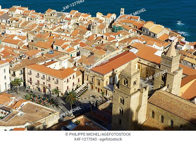 Italy, Sicily, Palermo district, Cefalu