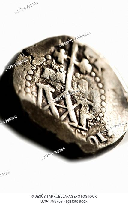 Ancient silver coin 1590