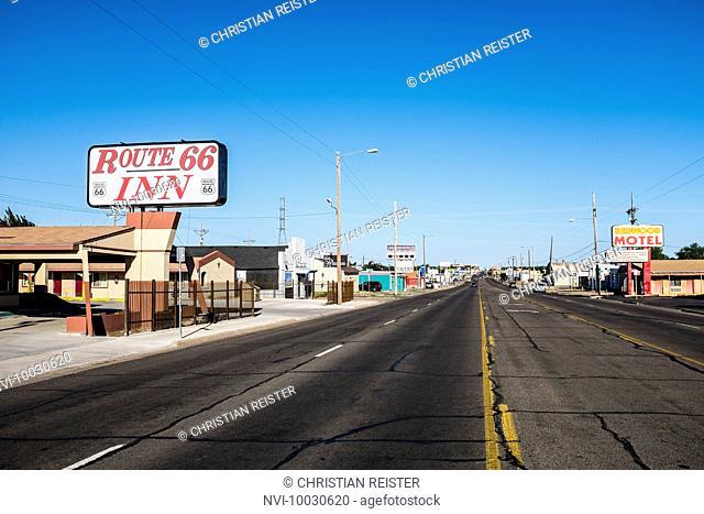 Historic Route 66, Amarillo, Texas, USA