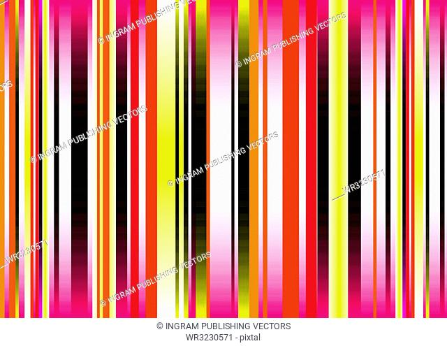 Brightly colored abstract background with fluid colours and vert stripes
