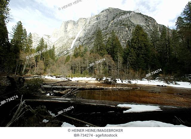 Avalanche, Yosemite National Park, California, USA, North America